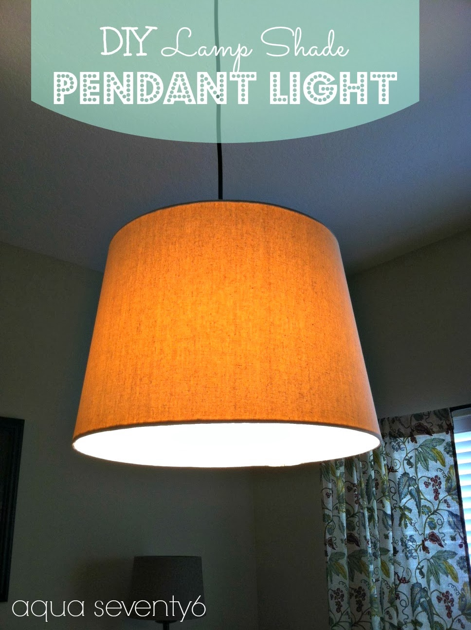 Diy Lampshade Pendant Light